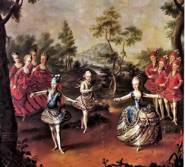 Бальные танцы история