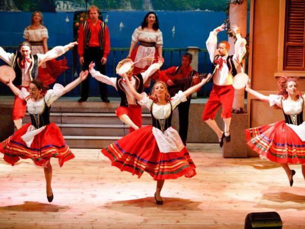 Итальянский народный танец тарантелла доклад 6310