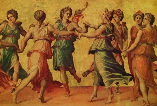 Танец в классической Греции