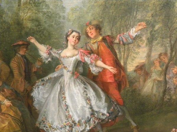 Танцы эпохи рококо