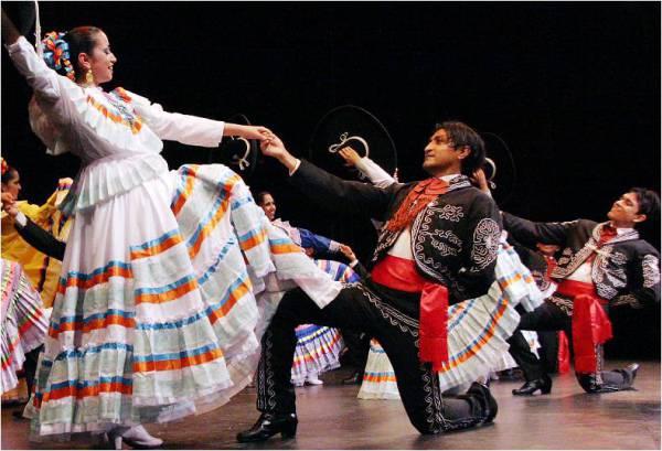 Латиноамериканские танцы: танцы Мексики