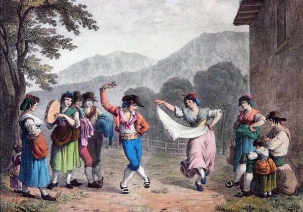 Танцы Италии