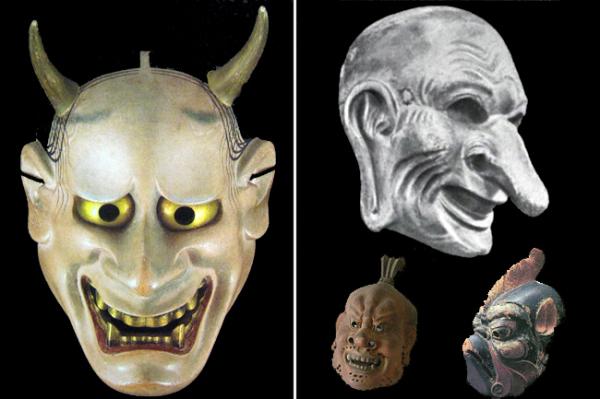 Гигаку - буддийский театр масок