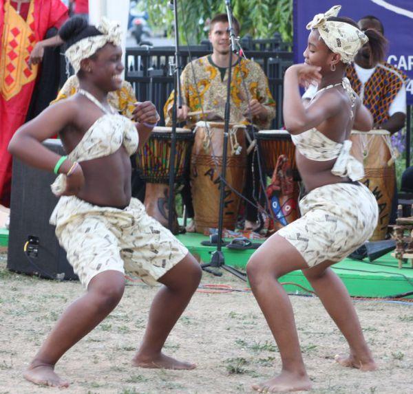 Танцы Африки