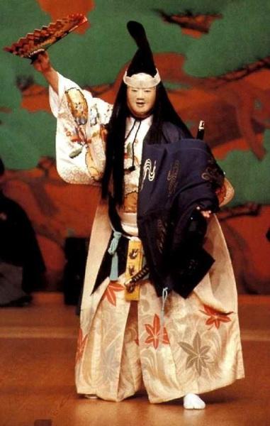 Костюмы японского театра Но