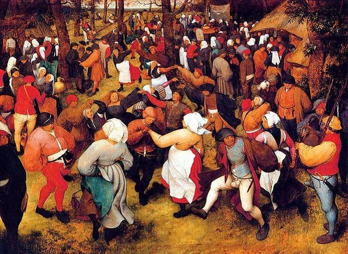 Танцевальная чума: необъяснимый феномен Средневековья