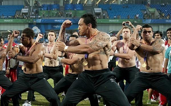 танцы маори: Хака