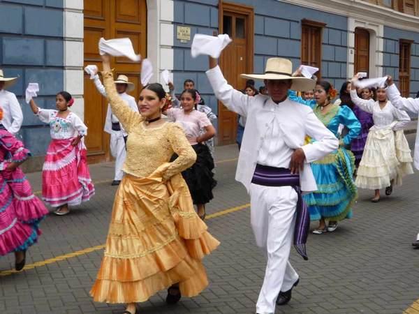 Маринера - национальный перуанский танец