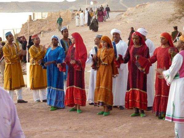 Африканский танец нубия