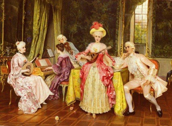 Танцы 18 века