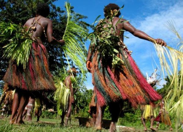 Танцы Папуа-Новая Гвинея